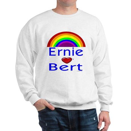 Ernie (hearts) Bert Sweatshirt