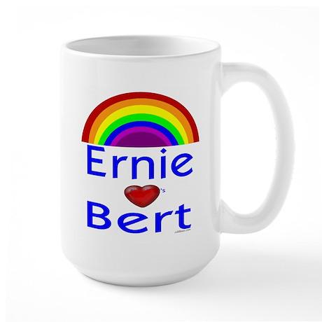 Ernie (hearts) Bert Large Mug