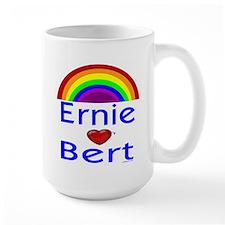 Ernie (hearts) Bert Mug