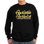 Autistic Activist v2 Sweatshirt (dark)