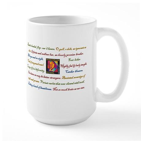 Shakespearean Insult Large Mug
