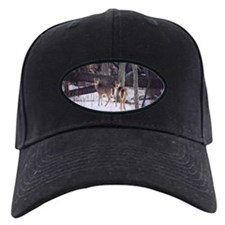 Winter Whitetail Deer Baseball Hat