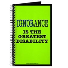 Ignorance is the greatest dis Journal
