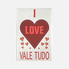 I Love Vale Tudo Rectangle Magnet