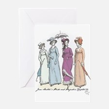 Pride and Prejudice Ch 54a Greeting Card