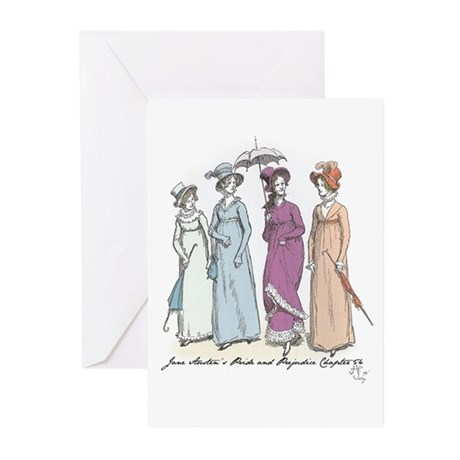 Pride and Prejudice Ch 54a Greeting Cards (Pk of 1