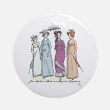 Pride and Prejudice Ch 54a Ornament (Round)