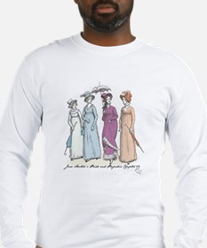 Pride and Prejudice Ch 54a Long Sleeve T-Shirt