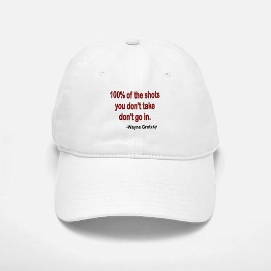 Wayne Gretzky quote Baseball Baseball Cap