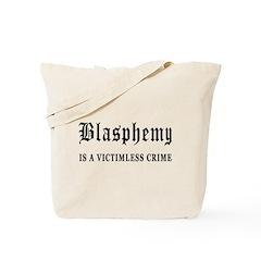 Blasphemy Tote Bag