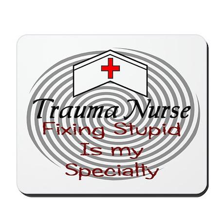 Trauma Mousepad