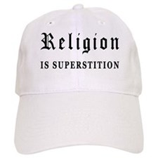 Religion is Superstition Baseball Cap