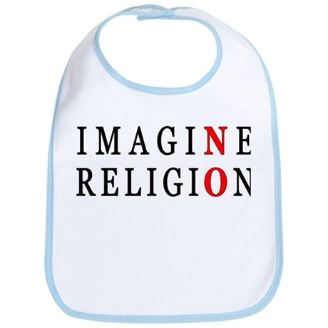 Imagine No Religion Bib