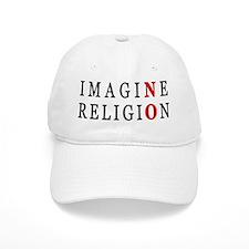 Imagine No Religion Baseball Cap