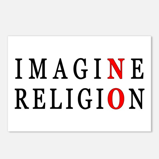 Imagine No Religion Postcards (Package of 8)