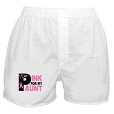 I Wear Pink For My Aunt 31 Boxer Shorts