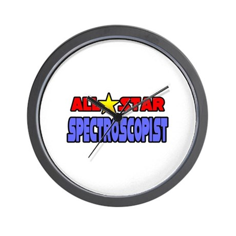 """All Star Spectroscopist"" Wall Clock"