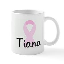 Tiana pink ribbon Mug