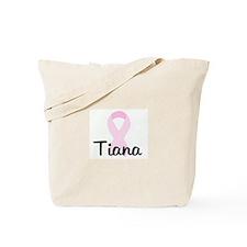 Tiana pink ribbon Tote Bag