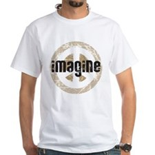 Imagine Peace White T-Shirt