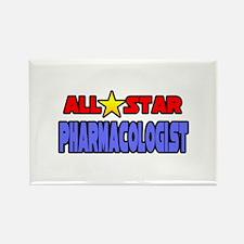 """All Star Pharmacologist"" Rectangle Magnet"