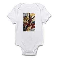 King of the Rocket Men Infant Bodysuit