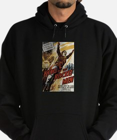 King of the Rocket Men Hoodie (dark)
