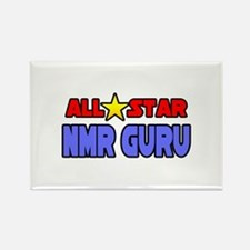 """All Star NMR Guru"" Rectangle Magnet"