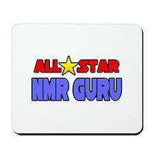 """All Star NMR Guru"" Mousepad"