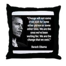 Cute Store barack obama Throw Pillow
