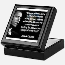 Cute Obama Keepsake Box
