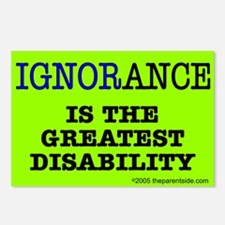 Ignorance is the greatest dis Postcards (Package o