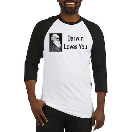 Darwin Loves You Baseball Jersey