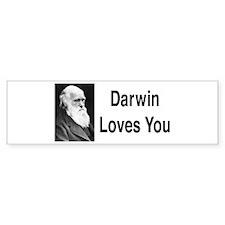 Darwin Loves You Bumper Bumper Sticker