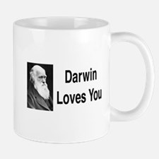 Darwin Loves You Mug