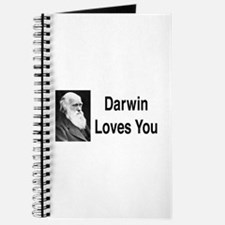 Darwin Loves You Journal