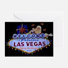 HO HO HO Las Vegas Merry Christmas SANTA Cards 10