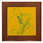 Lester's Gold Framed Tile