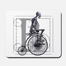 BICYCLE SKELETON Mousepad