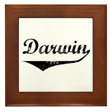 Darwin Framed Tile