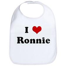 I Love Ronnie Bib