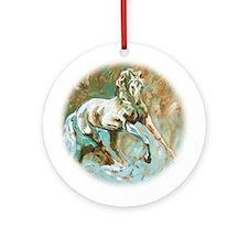 Classic Equine I - Ornament (Round)
