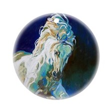 Andalusian Portrait, I - Ornament (Round)