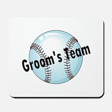 Groom's Team Mousepad