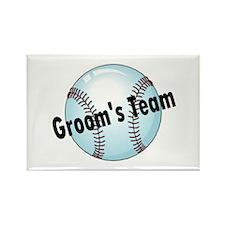 Groom's Team Rectangle Magnet