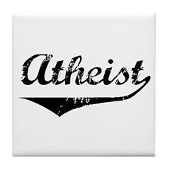 Atheist Tile Coaster