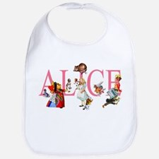 ALICE & FRIENDS IN WONDERLAND Bib