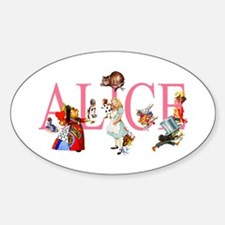 ALICE & FRIENDS IN WONDERLAND Decal
