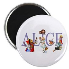 ALICE & FRIENDS IN WONDERLAND Magnet
