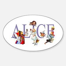 ALICE & FRIENDS IN WONDERLAND Decal